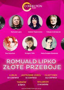 Romuald Lipko - Złote przeboje. mat.artCONNECTION music ePlakat